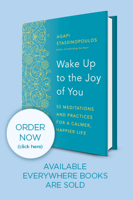 agapi-stassinopoulos-wake-up-to-the-joy-of-you-book-pre-order